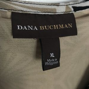 Dana Buchman Tops - Dana Buchman Top scooped neckline ties at waist XL